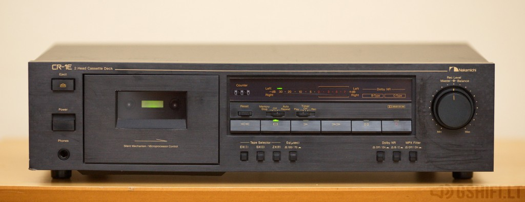 Nakamichi CR-1E © 2014 GSHiFi.lt - All rights reserved