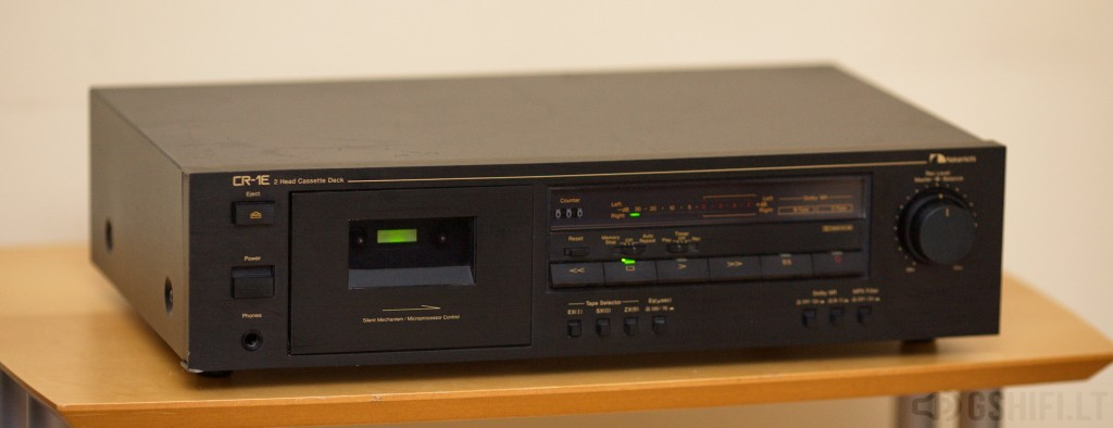Nakamichi CR-1E_ © 2014 GSHiFi.lt - All rights reserved