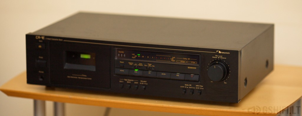 Nakamichi CR-1E__ © 2014 GSHiFi.lt - All rights reserved