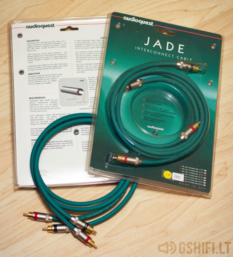 audioquest JADE HYPERLITZ 2x1m - 01 - © 2016 GSHiFi.lt - All rights reserved