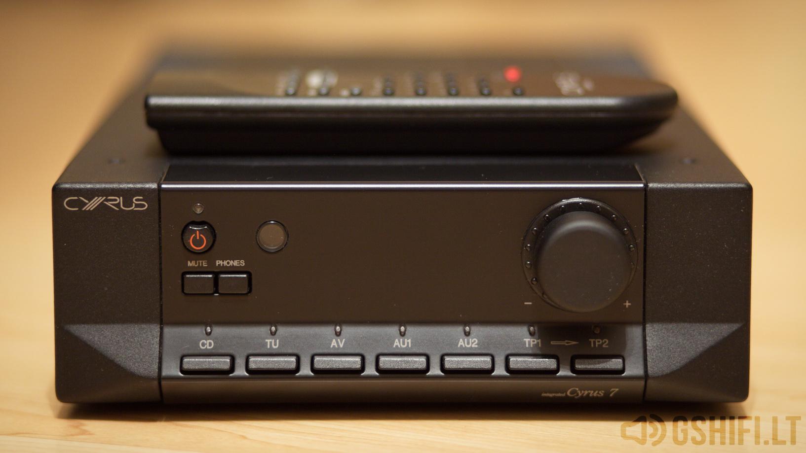 ♪♫Parduotas♫♪ CYRUS 7 Stereo Stiprintuvas | GSHiFi.lt