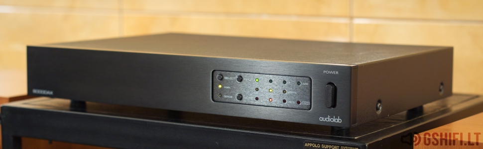 ♪♫Parduotas♫♪ audiolab 8000DAX DAC Skaitmeninis-Analoginis Keitiklis