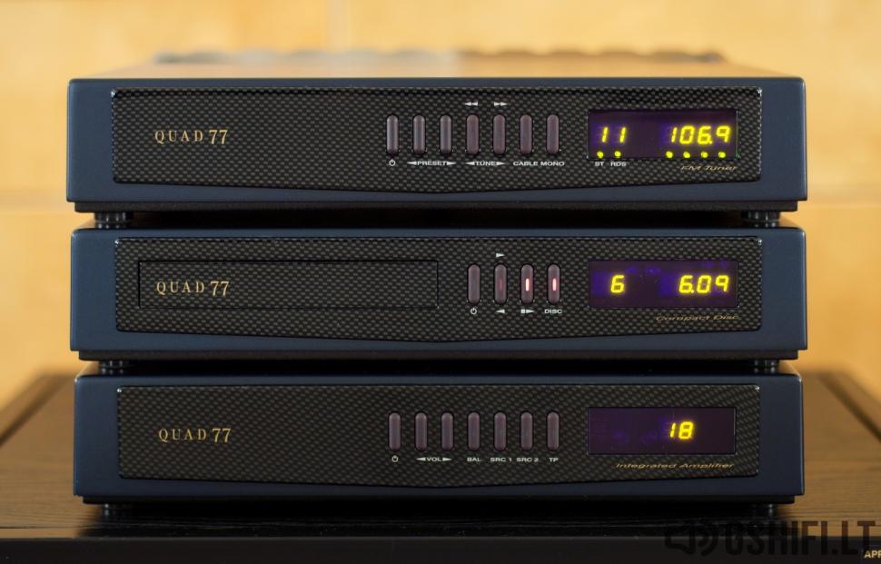 ♪♫Parduotas♫♪ QUAD 77 Stereo Komplektas