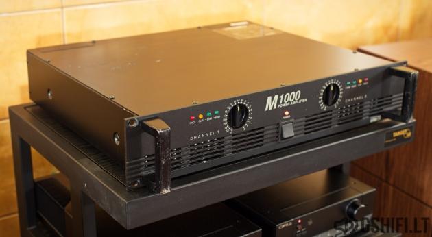♪♫Parduotas♫♪ interM M1000 Koncertinis Stiprintuvas