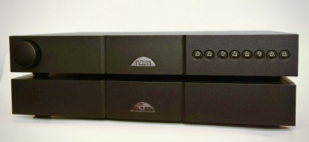 NAIM NAC112 + NAP150 Stereo Komplektas