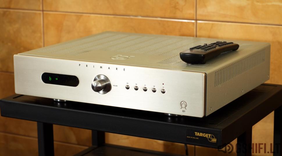 ♪♫Parduotas♫♪ PRIMARE I21 Stereo Stiprintuvas