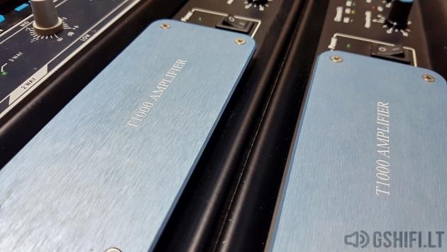 ♪♫Parduoti♫♪ MC2 T1000 Koncertiniai Stiprintuvai