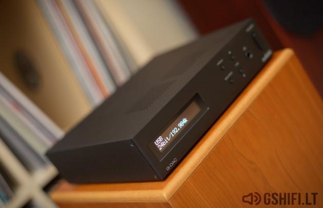 audiolab Q-DAC USB Skaitmeninis / Analoginis Keitiklis