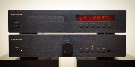 exposure 1010 Stereo Komplektas (Stiprintuvas + CD Grotuvas)