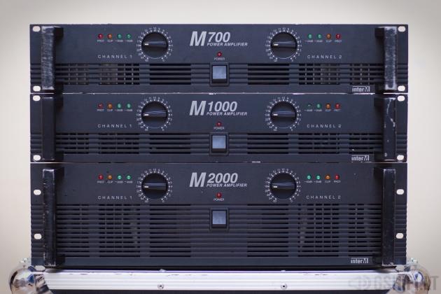 interM MAJESTIC Koncertiniai Stiprintuvai (M700, M1000, M2000)