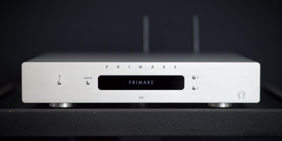 ♪♫Parduotas♫♪ PRIMARE I15 PRISMA Stereo Stiprintuvas su integruotu Tinklo Grotuvu, DAC