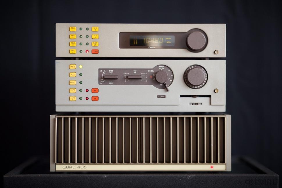 QUAD 44 + 405 + FM 4 Stereo Sistema
